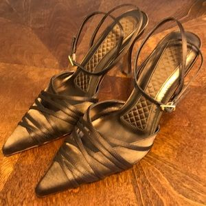 Valerie Stevens Gwyneth Ankle Strap Heels